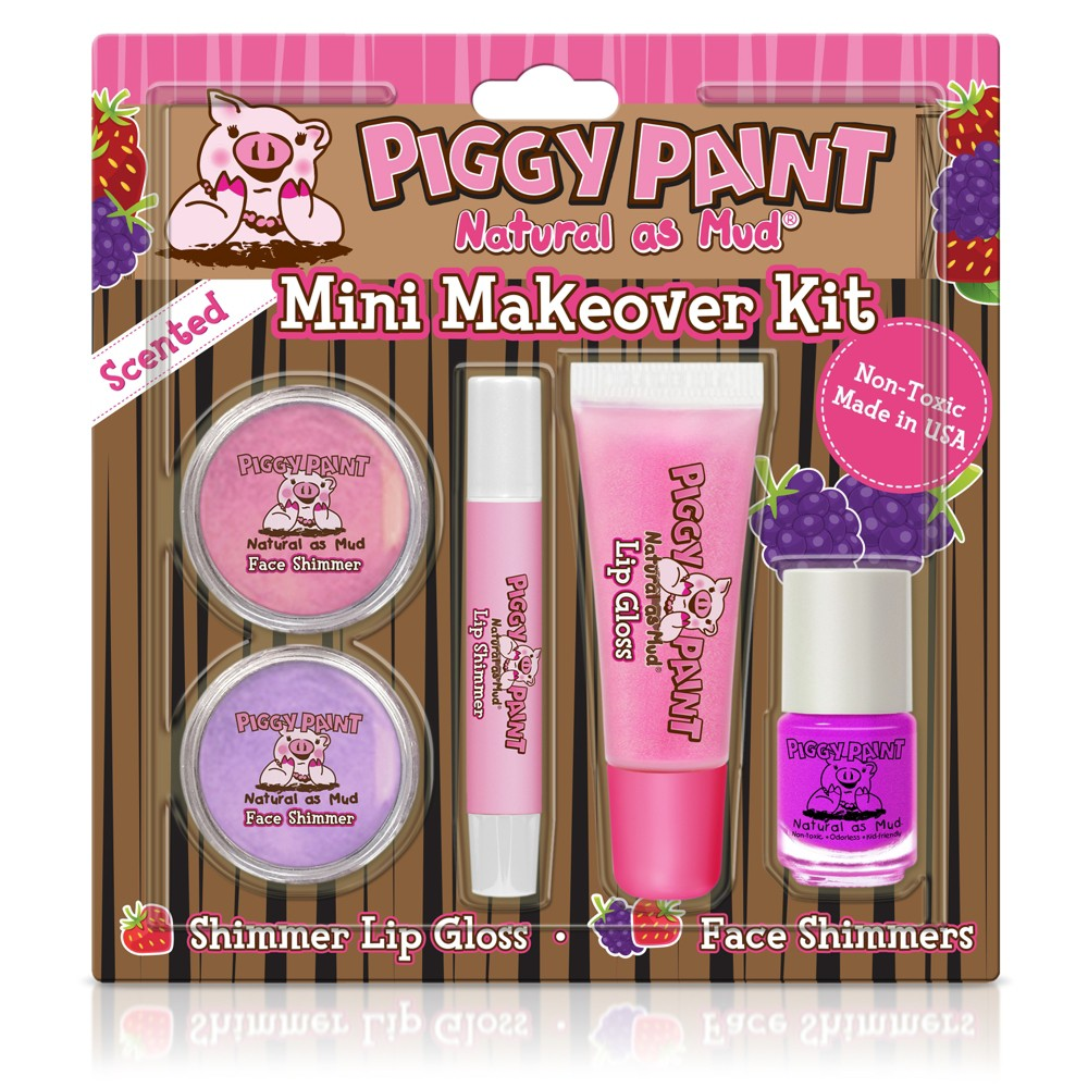 Image of Piggy Paint Mini Makeover Kit Purple - 1ct