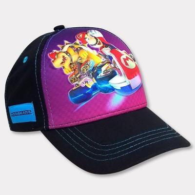 Boys' Nintendo Mario Kart Hat - Black