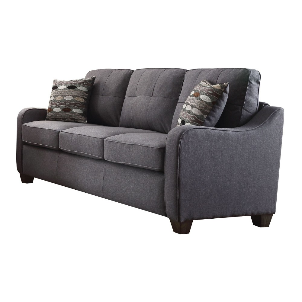 Sofas Acme Furniture Gray Sofas Acme Furniture Gray Gender: Unisex. Pattern: Solid.