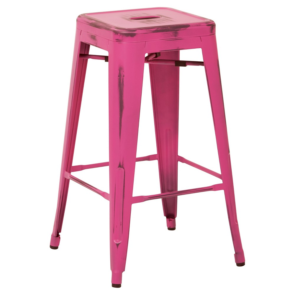 26 Bristow Barstools - 2pk - Antique Pink - Osp Designs