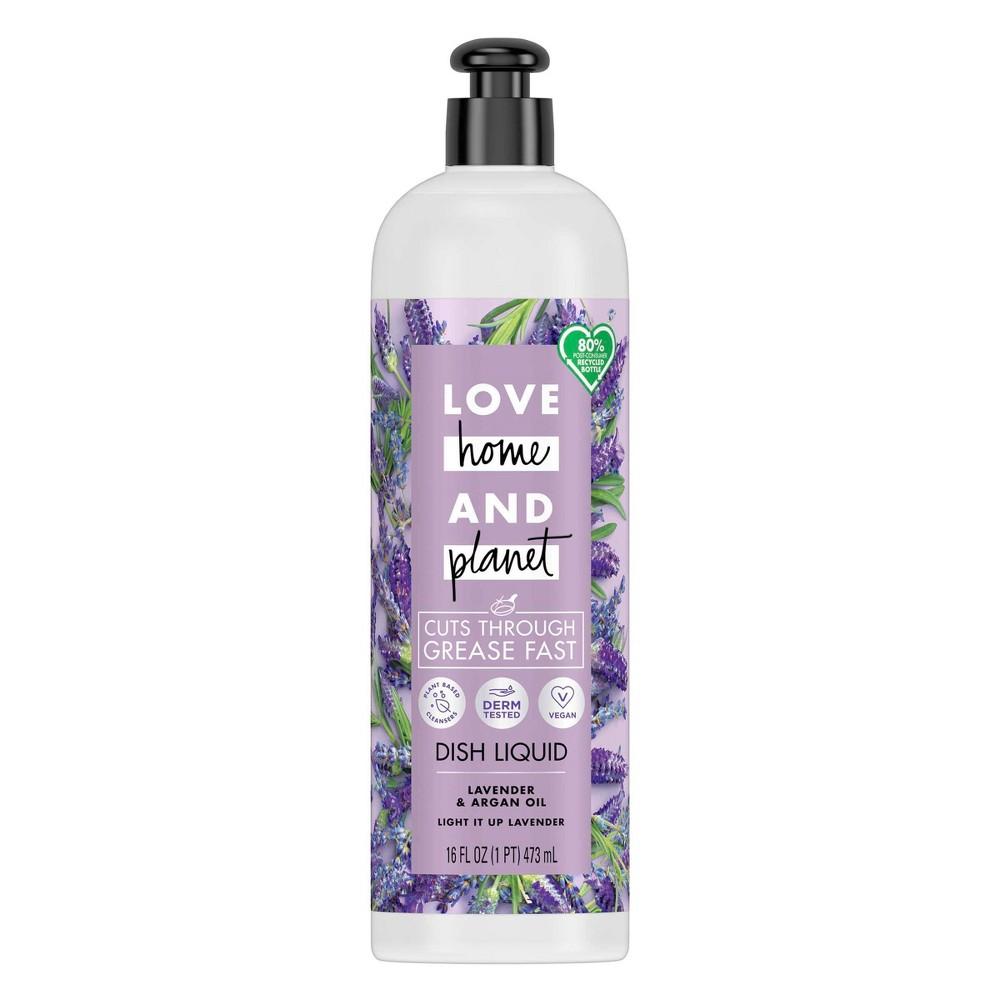 Love Home 38 Planet Dish Liquid Lavender 38 Argan Oil 16 Fl Oz