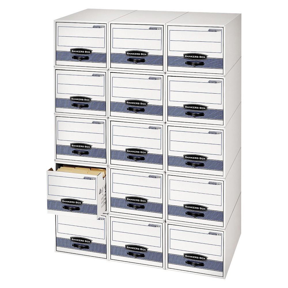 Bankers Box Stor/Drawer Steel Plus Storage Drawers, Legal, 6/Carton, Blue