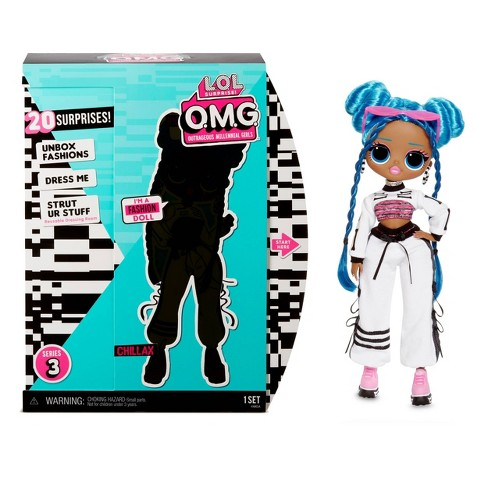 L O L Surprise O M G Series 3 Chillax Fashion Doll With 20 Surprises Target
