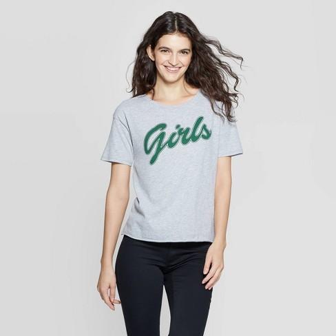 Women's Rachel's Girls Short Sleeve T-Shirt (Juniors') - Athletic Heather XS - image 1 of 2