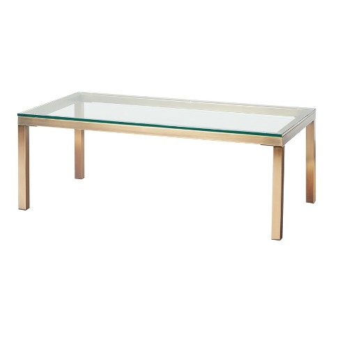 Manhattan Coffee Table Gold Buylateral Target