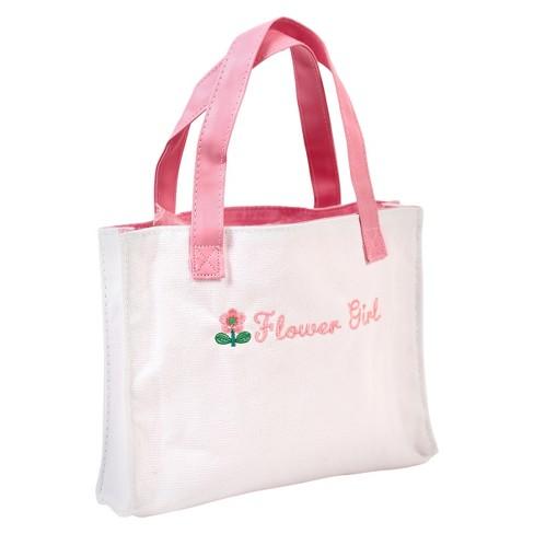 Canvas Flower Girl Decorative Bag - image 1 of 1