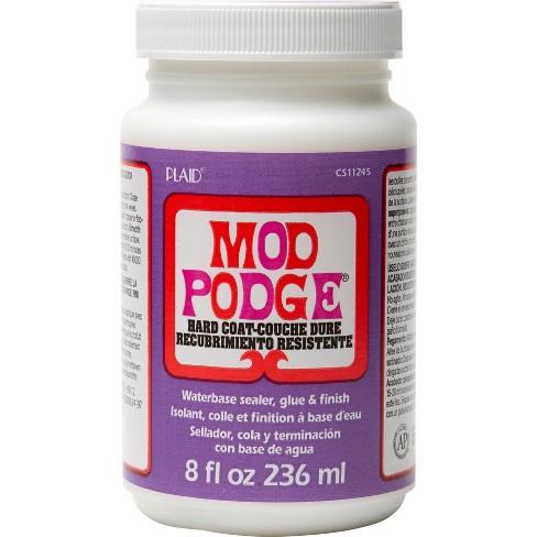 Mod Podge 8oz Hard Coat Glue - Clear - image 1 of 4