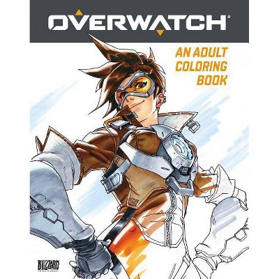 Overwatch Coloring Book - by Blizzard Entertainment (Paperback)