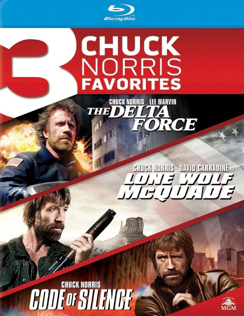 Delta force/Long wolf mcquade/Code of (Blu-ray) - image 1 of 1
