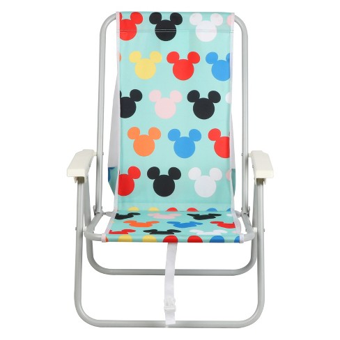 Disney Mickey Mouse Backpack Beach Chair Blue