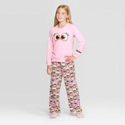 Girls' Angry Birds Stella 2pc Pajama Set - Pink