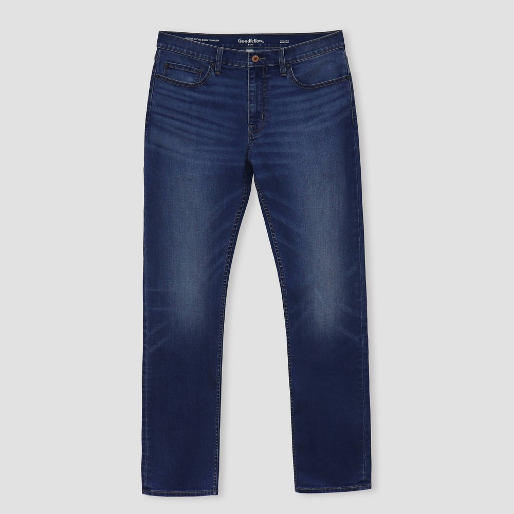 Men 39 S Big 38 Tall Athletic Fit Jeans Goodfellow 38 Co 8482 Medium Wash 50x32