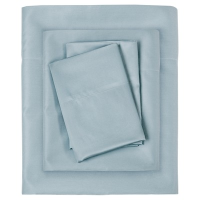 Liquid Cotton Sheet Set (California King)Blue
