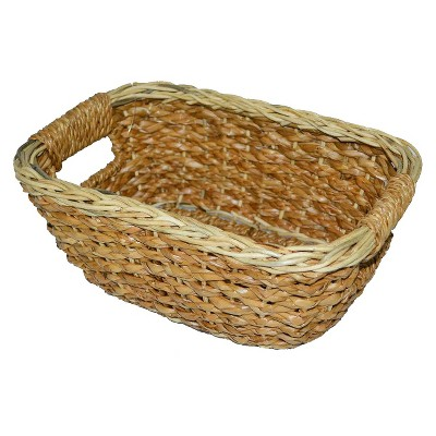 Seagrass Rounded Rectangle Wicker Basket - Threshold™