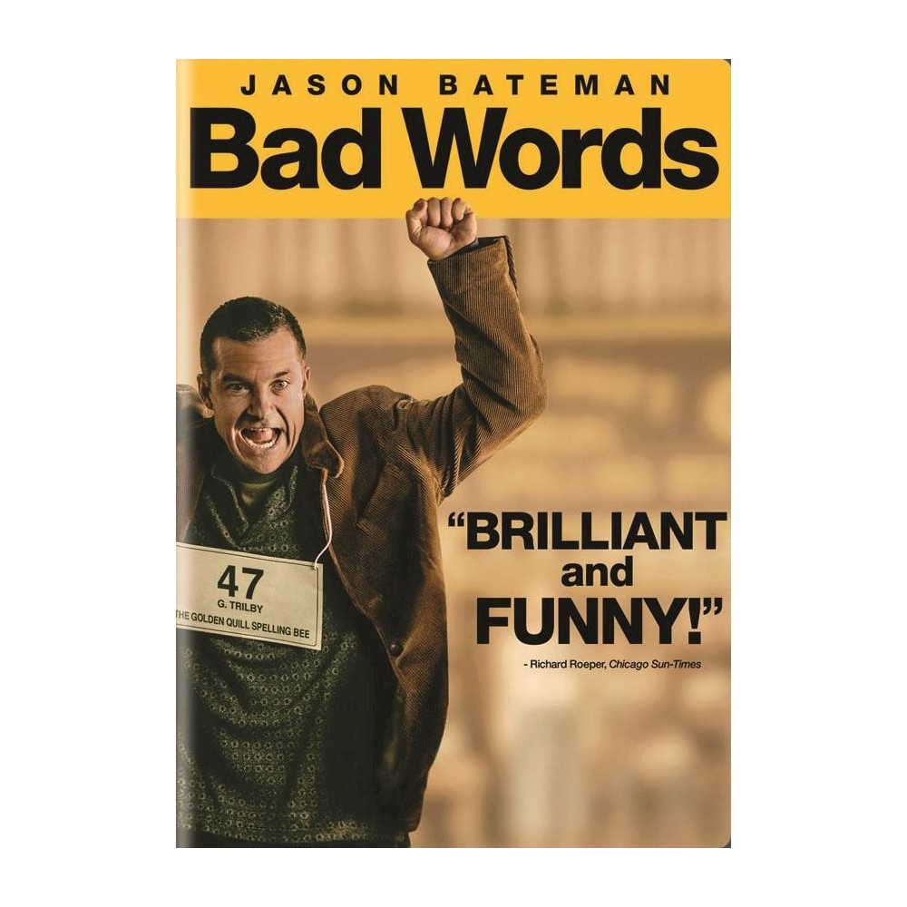 Bad Words Dvd