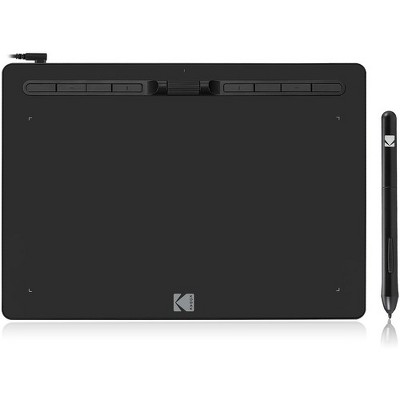 "Kodak CyberTablet HD Graphic Tablet F12 - Graphics Tablet - 12"" x 7"" - 5080 lpi - 8192 Pressure Level - Pen - Mac, PC - Black"