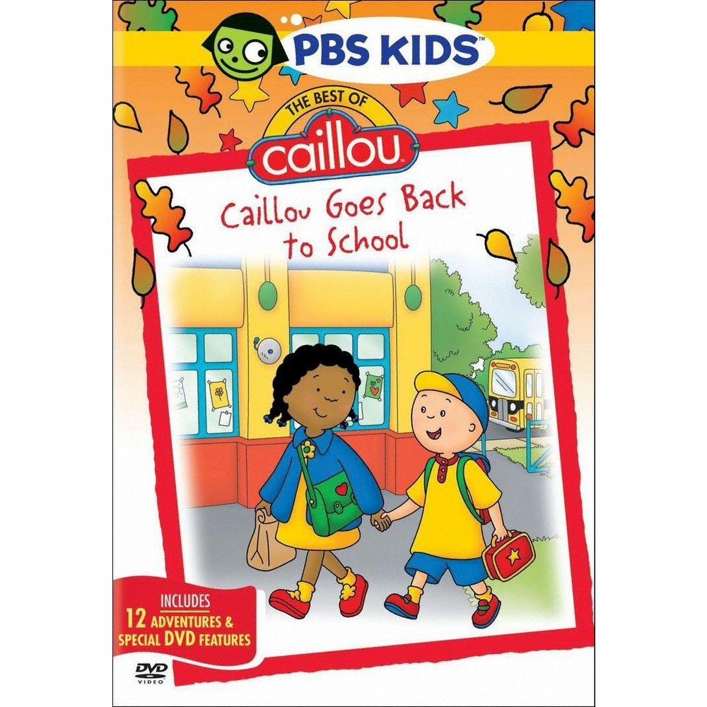 Best of caillou:Caillou goes back to (Dvd)