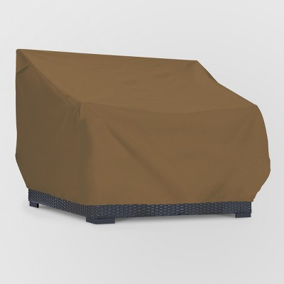 Loveseat Cover Brown - Threshold™
