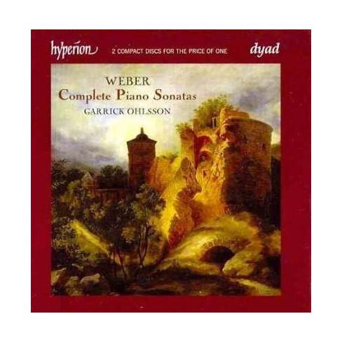 Weber, Carl Maria von; Ohlsson, Garrick [Piano] - Weber: Complete Piano Sonatas (CD) - image 1 of 1