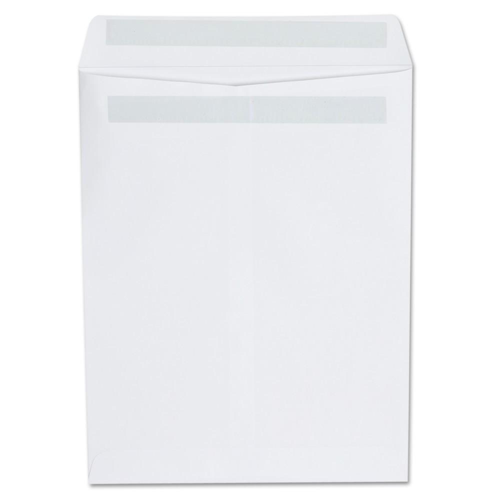 Universal Self Seal Catalog Envelope, 9 x 12, White, 100/Box (42101)