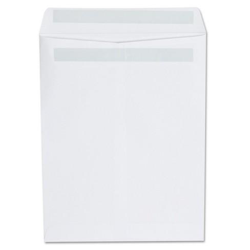 Universal® Self Seal Catalog Envelope, 9 x 12, White, 100/Box (42101) - image 1 of 2