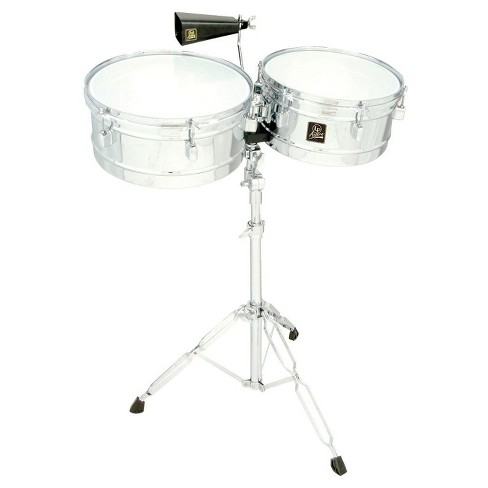 "LP Latin Percussion LPA256 Aspire Series 13"" and 14"" Timbale Set with Cowbell - image 1 of 1"