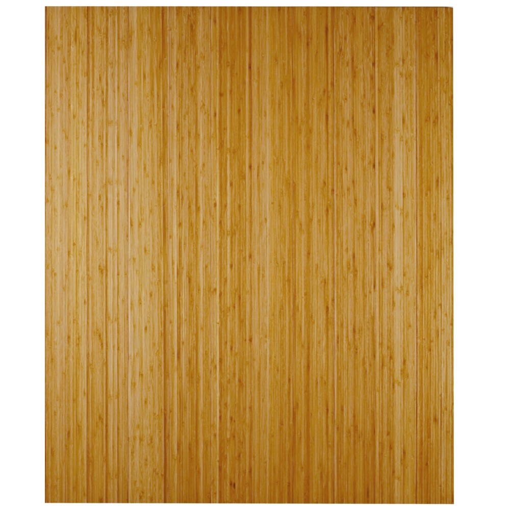 """Image of """"3'6""""""""X4' Bamboo Deluxe Roll-Up Chairmat With No Lip Neutral - Anji Mountain"""""""