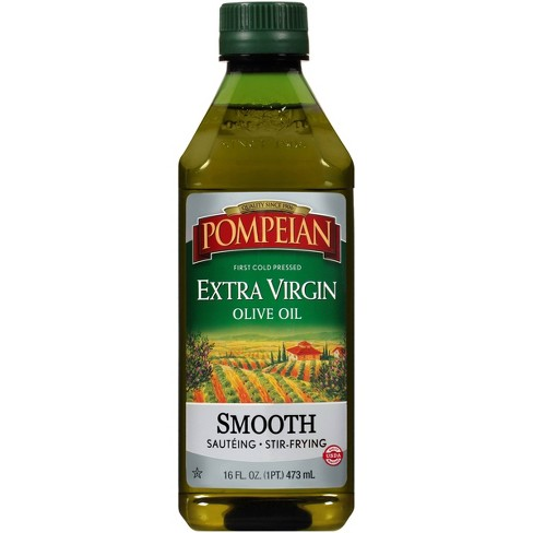 Pompeian Extra Virgin Olive Oil Smooth - 16oz - image 1 of 4