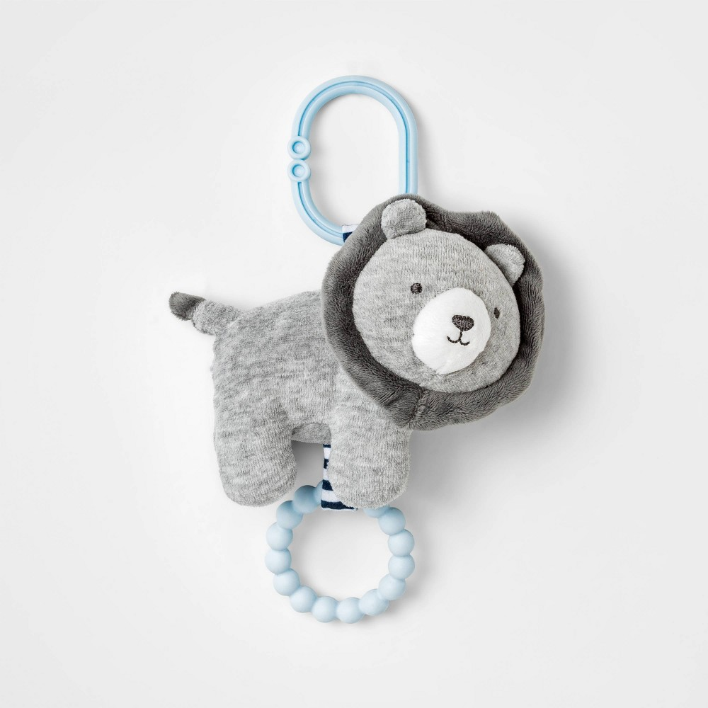 Image of Baby Lion Rattle with Teether - Just One You made by carter's
