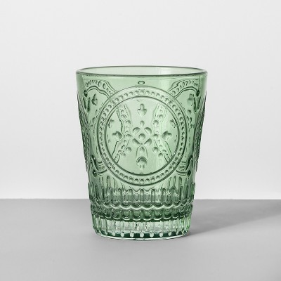 9.1oz Glass Tumbler Green - Opalhouse™