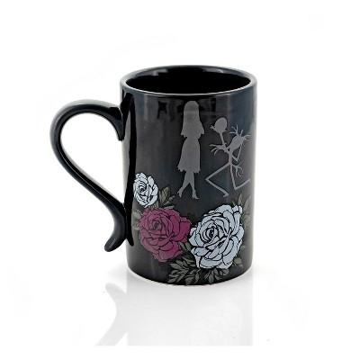 Seven20 The Nightmare Before Christmas Black Rose Wedding 15 Oz Ceramic Coffee Mug