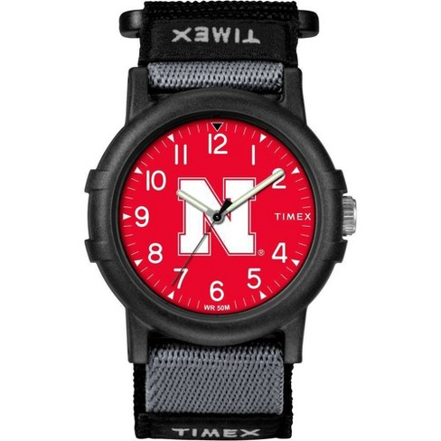 NCAA Nebraska Cornhuskers Tribute Collection Recruite Youth Watch - image 1 of 1