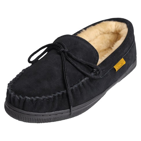 236f6a9ee47 Men s Brumby® Suede Moccasin Slippers   Target