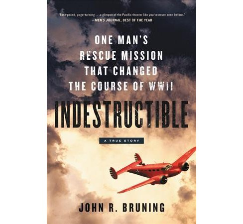 Indestructible : One Man's Rescue Mission That Changed the Course of WWII (Large Print) (Hardcover) - image 1 of 1