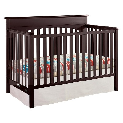 Graco® Lauren 4-in-1 Convertible Crib - Espresso