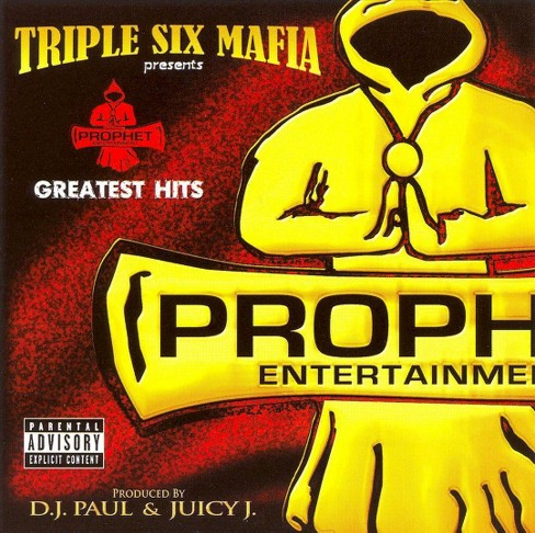 Triple six mafia - Prophet's greatest hits [Explicit Lyrics] (CD) - image 1 of 1