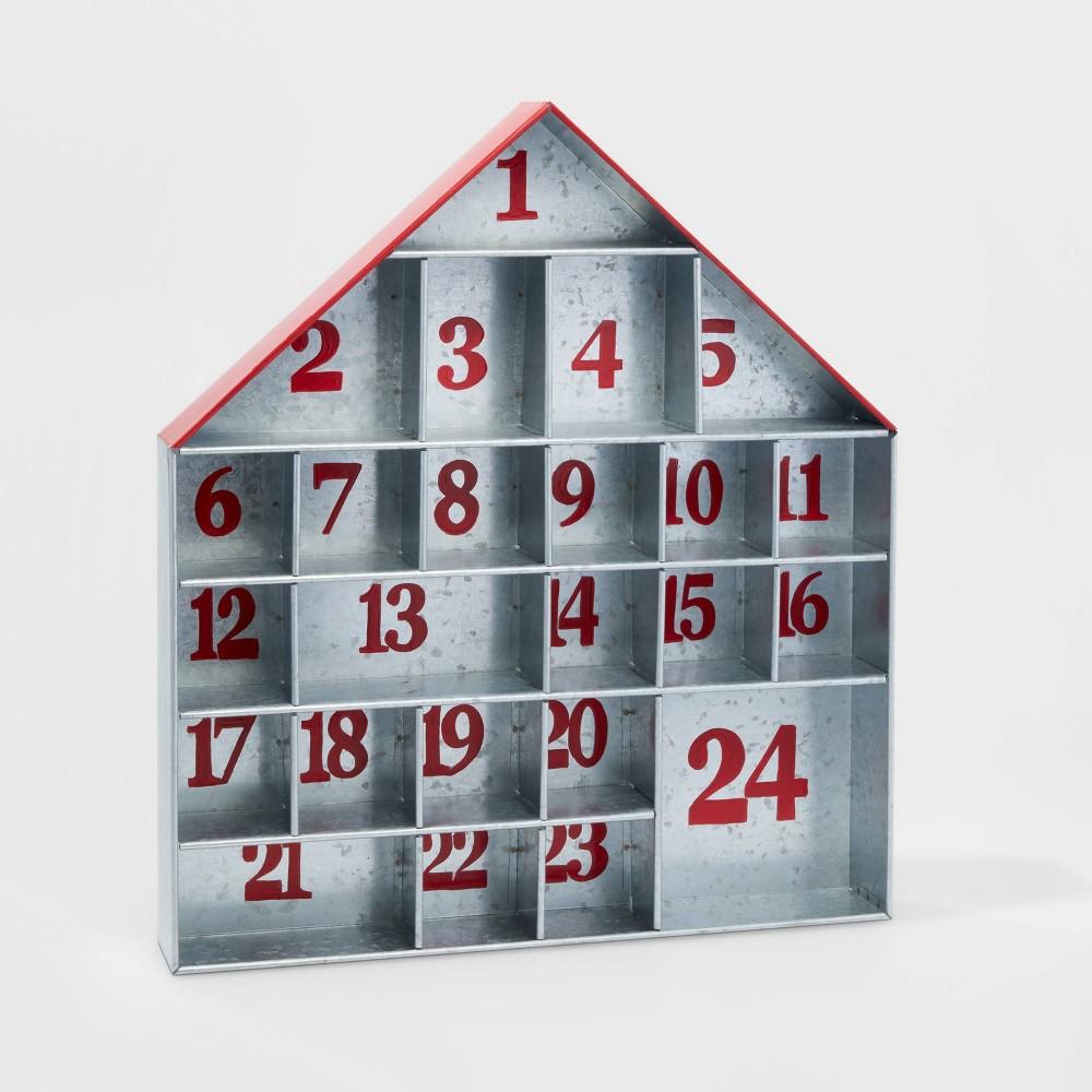 Image of Galvanized House Christmas Advent Calendar - Wondershop