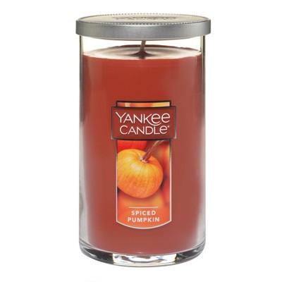 Yankee Candle® - Spiced Pumpkin Medium Pillar Candle 12oz