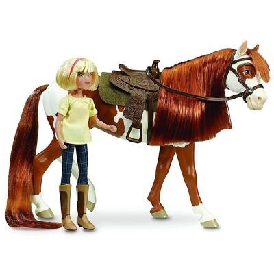 Breyer Animal Creations Breyer 1:12 Classics Spirit Riding Free Boomerang & Abigail Model Horse Set