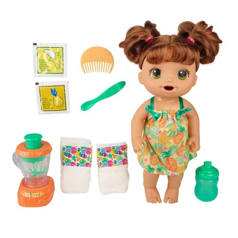 Baby Alive Magical Mixer Baby Doll Pineapple Treat Target