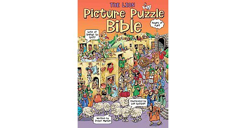 Lion Picture Puzzle Bible (Hardcover) (Peter Martin) - image 1 of 1