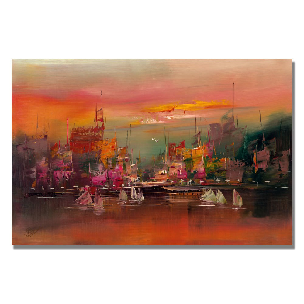 Trademark Fine Art 16 x 24 Rio 'City Reflections III' Canvas Art was $59.99 now $47.99 (20.0% off)