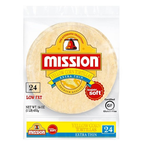 Mission® Extra Thin Yellow Corn Tortillas - 24ct - image 1 of 2