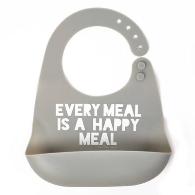Tunno Tots Silicone Bib - Happy Meal