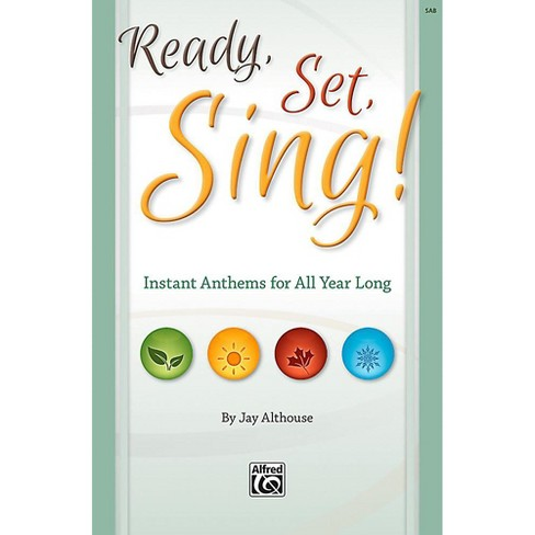 Alfred Ready, Set, Sing! - Preview Pack (SAB Choral Book & Listening CD) - image 1 of 1