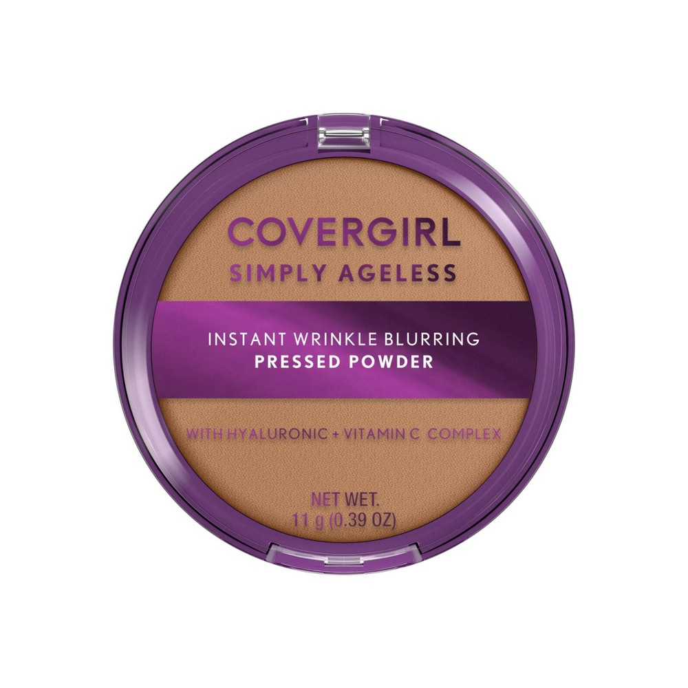 Covergirl Simply Ageless Instant Wrinkle Blurring Pressed Powder 255 Soft Honey 0 39oz