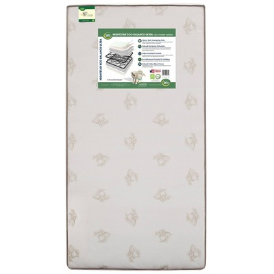 Serta Nightstar Eco Balance Ultra Natural Blend Woven Cover Crib & Toddler Mattress