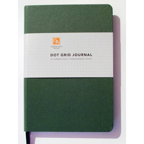 Dot Grid Journal - Palm - (Dot Grid Journals)by  Graphic Arts Books (Hardcover) - image 1 of 1