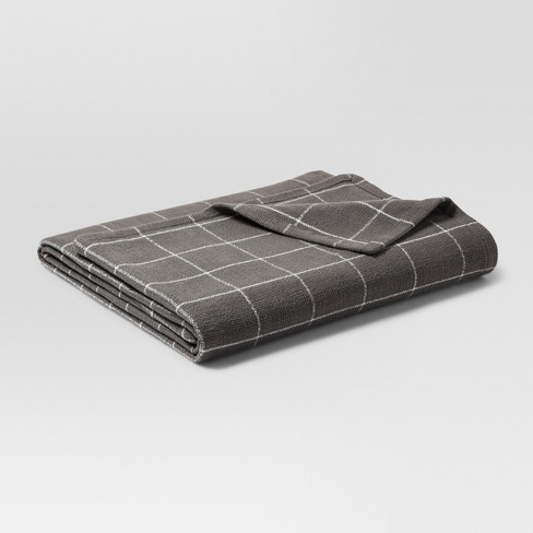 Soft Textured Blanket - Threshold™ - image 1 of 1
