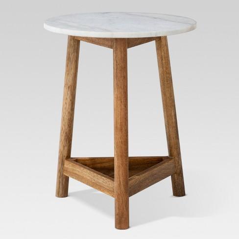 marble top side table Lanham Marble Top Side Table   Threshold™ : Target marble top side table